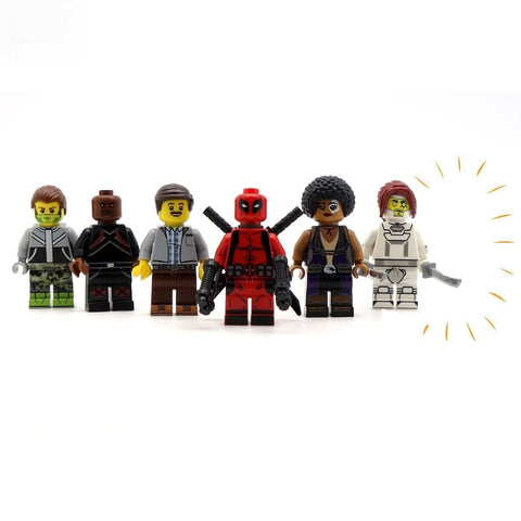 BloX Force Team - Custom Design Minifigure Set