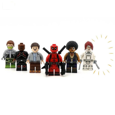 BloX-force (full set) Custom LEGO Minifigure Set