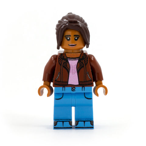 Yaz Khan the Companion (Doctor Who) - Custom Design LEGO Minifigure