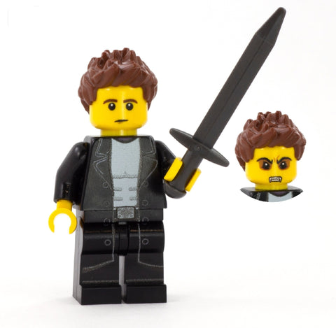 Angel, Vampire Slayer - Custom LEGO Minifigure inspired by Buffy the Vampire Slayer
