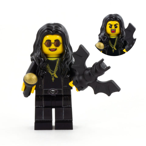 Ozzy Osbourne, The Prince of Darkness - Custom Design Minifigure