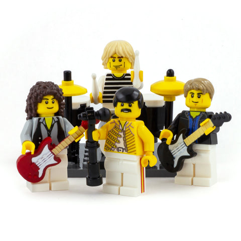 A Crazy Little thing Called LOVE, Queen - Custom Design LEGO Minifigure Set