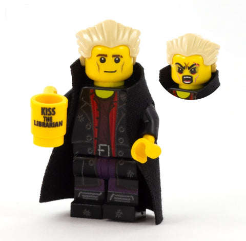 Vampire Slayers, Spike - Custom Design LEGO Minifigure
