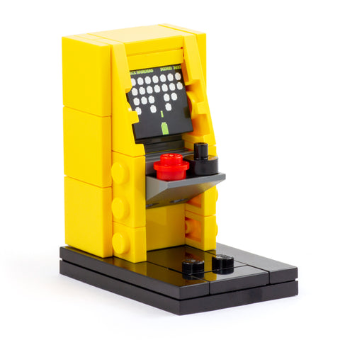 Yellow Arcade Cabinet - Custom Minibuild Display