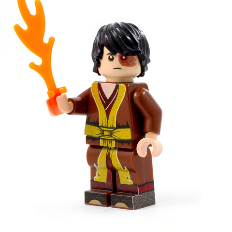 LEGO Prince Zuko, Avatar: The Last Airbender - Custom Design minifigure