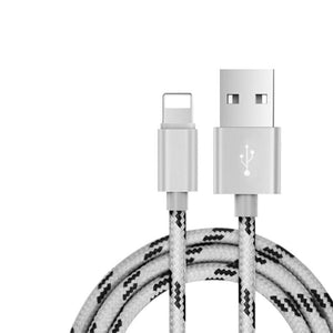Nylon Braid Data Cable Usb Data Cable Fast Charge Mobile Phone Iphone Charging Data Cable
