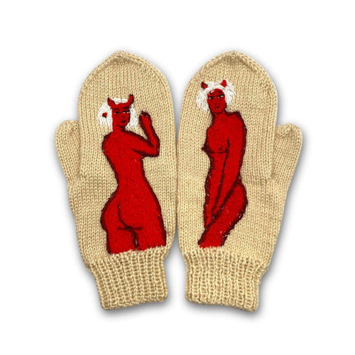 The Mold Knitted Mitten