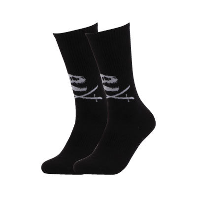 Fossil & Swords Black Socks