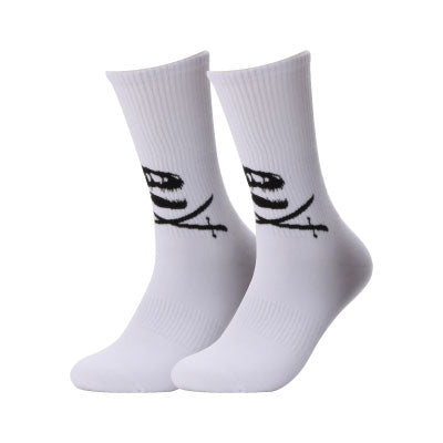 Fossil & Swords White Socks