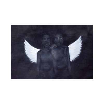 Two Angels Print
