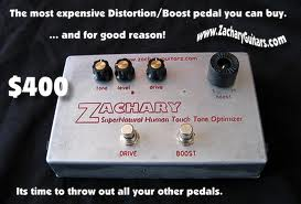 Expensive Boutique Pedal Ad