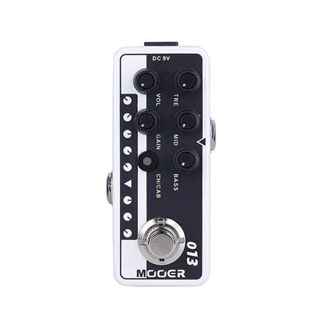 Mooer 013 Matchbox Matchless Style Boutique Preamp Pedal