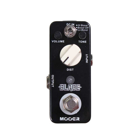 Mooer Blade Distortion / Fuzz Metal Muff Clone