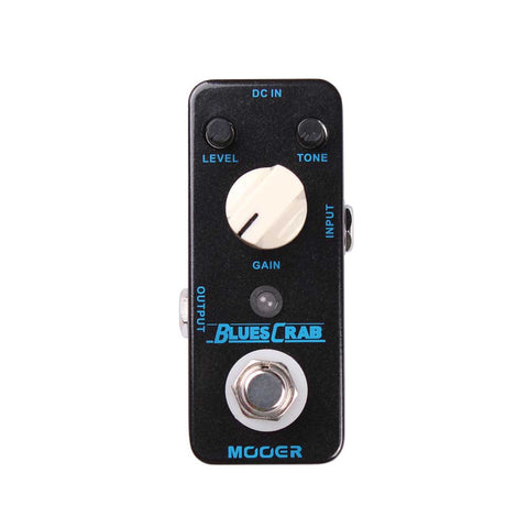 Mooer Blues Crab Overdrive Marshall Bluesbreaker Clone