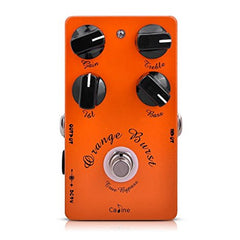 Caline CP-18 Orange Burst  Xotic BB Preamp Clone Pedal