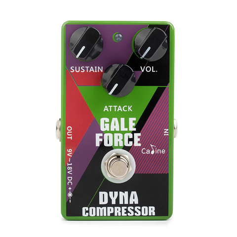 Caline CP-52 Gale Force MXR Dyna Comp Clone Pedal