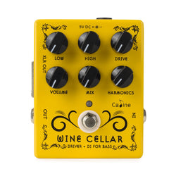Caline CP-60 Wine Cellar Driver and DI Bass Pedal