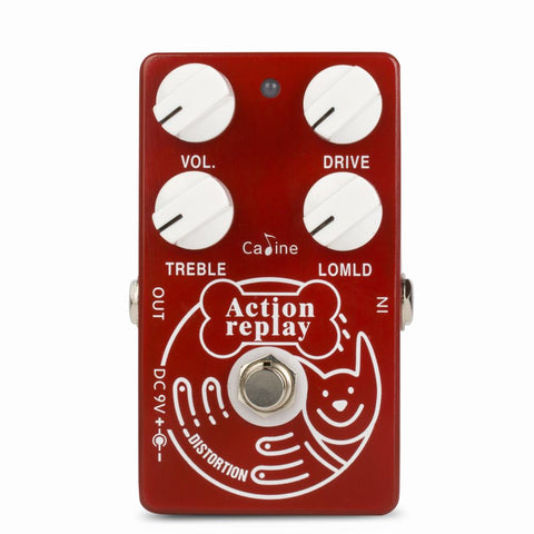 Caline CP-74 Action Replay Dyna Red Distortion Clone