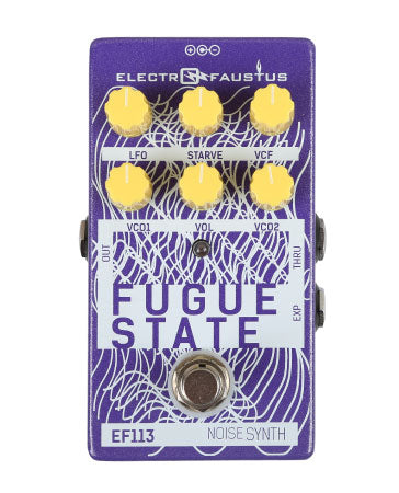Electro Faustus Fugue State Noise Synth EF113
