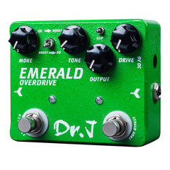 Dr. J D60 Emerald Overdrive(r) + Boost Pedal