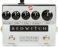 Red Witch - Factotum Bass Suboctave Drive Pedal