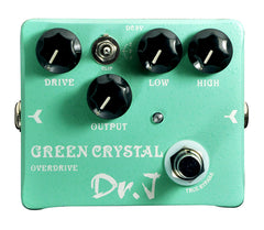 Dr. J D50 Green Crystal Overdrive Pedal