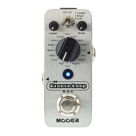 Mooer Groove Loop Drum Machine and Looper Pedal
