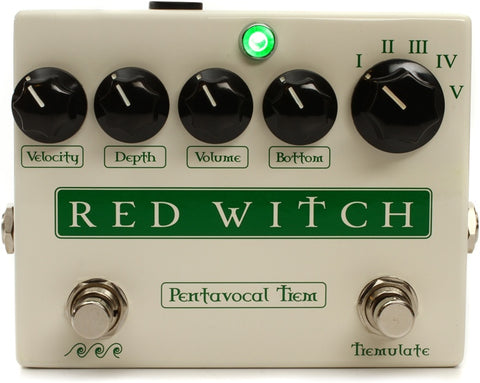 Red Witch - Pentavocal Tremolo All True Analog Tremolo Pedal