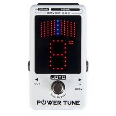 Joyo JF-18R Power Tune Power Supply + Pedal Tuner