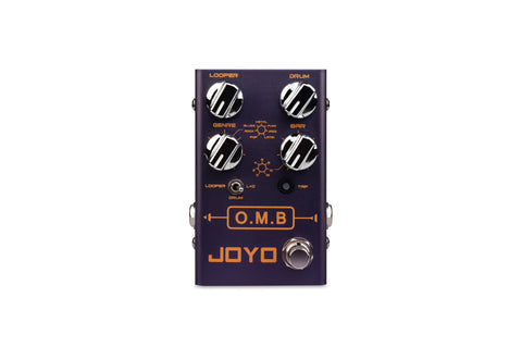 Joyo R-06 O.M.B. Looper and Drum Machine Pedal