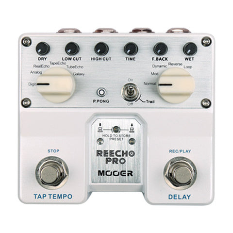 Mooer Reecho Pro DELAY and LOOP Pedal