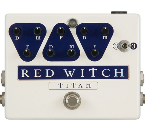 Red Witch - Titan Triple Analog Delay  Pedal