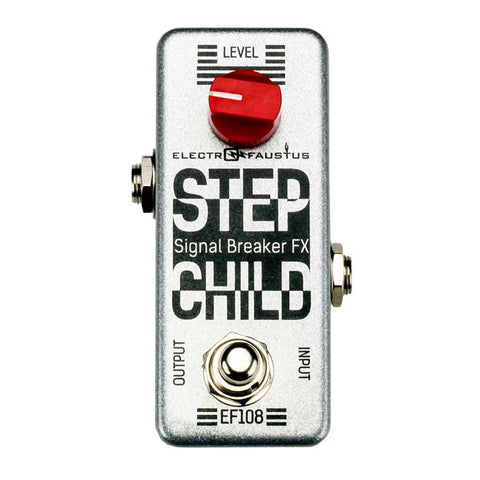Electro Faustus Step Child EF108 Kill Switch Stutter Pedal