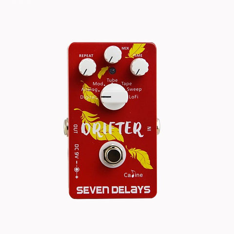 Caline CP-37 Drifter Seven Delays Multi-Delay Pedal