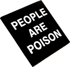 Cold Cave - People Are Poison Enamel Pin