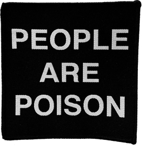 Cold Cave - People Are Poison Back Patch