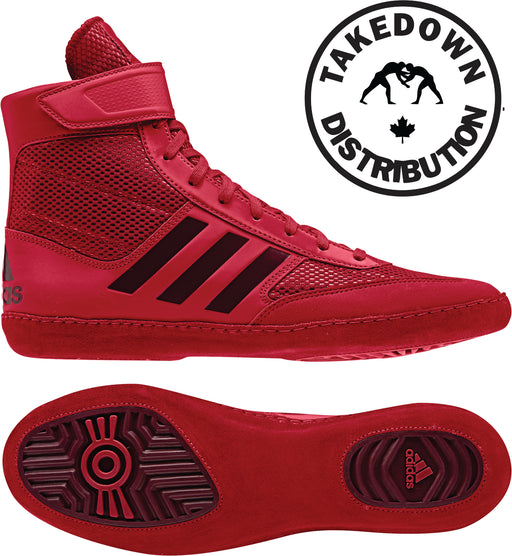 Adidas Shoe Wrestling Combat Speed 5  Red - Takedown Distribution