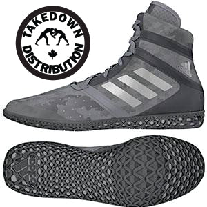 Adidas Shoe Wrestling Flying Impact Camo Gray - Takedown Distribution