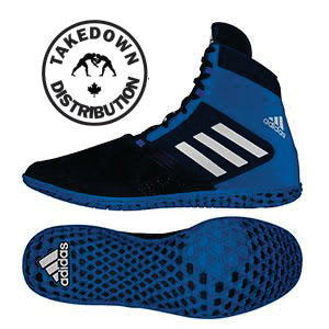 Adidas Shoe Wrestling Impact Navy - Silver - Takedown Distribution