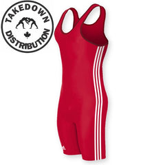 Adidas Singlet Mens Singlet Red-White
