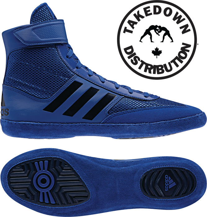 Adidas Shoe Wrestling Combat Speed 5  Royal - Takedown Distribution