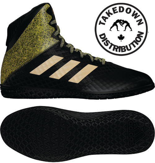 Adidas PRE-ORDER Mat Wizard Hype Black/Gold - Takedown Distribution