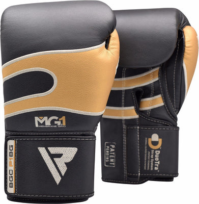 RDX Gloves Boxing Leather BGC-PIBW - Takedown Distribution