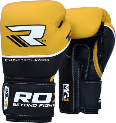 RDX Gloves Boxing Leather BGLT9Y - Takedown Distribution