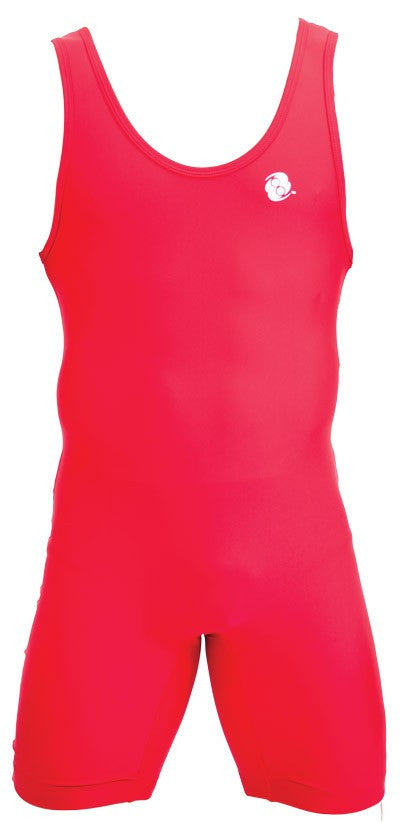 Clinch Gear Singlet Wrestling  Youth Performance Red - Takedown Distribution