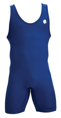 Clinch Gear Singlet Wrestling  Youth Performance Blue - Takedown Distribution