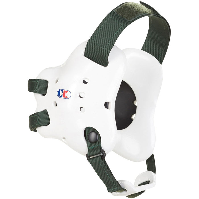 Cliff Keen EF66 Fusion Headgear White - Black - Takedown Distribution