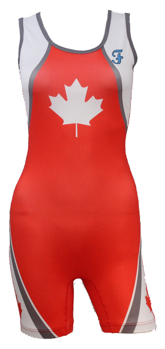 Freestyle Stock Singlets Youth Female - Takedown Distribution