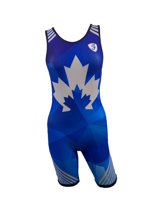 Freestyle Reversible Singlets Adult Female - Takedown Distribution