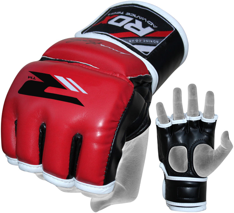 RDX Gloves Grappling MMA GGR-F11 RED - Takedown Distribution